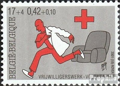 Belgium 3072 (complete.issue.) unmounted mint / never hinged 2001 Red Cross