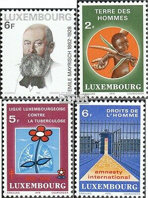 Luxembourg 971,972-974 (complete.issue.) unmounted mint / never hinged 1978 Mayr