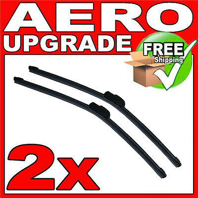 Fits Ford Fiesta MK6 Hatch Aero VU Front Windscreen Window Wiper Blades