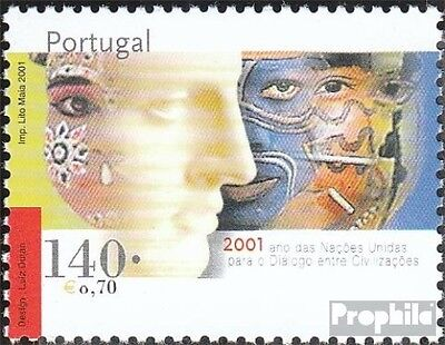 Portugal 2539 (complete.issue.) unmounted mint / never hinged 2001 Dialogue the