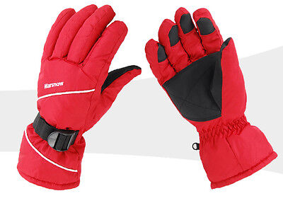 Mens Ladies Unisex Snow Ski Gloves (One Size) with Thermal Lining *NEW*