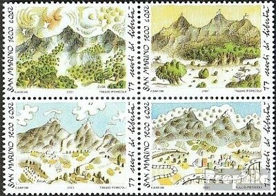 San Marino 1966-1969 block of four (complete.issue.) unmounted mint / never hing