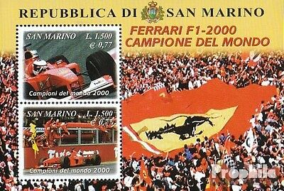 San Marino block28 (complete.issue.) unmounted mint / never hinged 2001 Formula