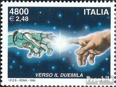 Italy 2666 (complete.issue.) unmounted mint / never hinged 1999 Year 2000