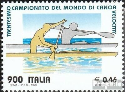 Italy 2644 (complete.issue.) unmounted mint / never hinged 1999 Canoe-WM