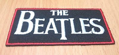 New The Beatles Band Music Rock Logo Embroidered Iron On Patch Shirt Po221