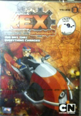 Generator Rex Volume 3 - Episodes 11 - 15 Brand New Sealed Region Free Pal Dvd!!