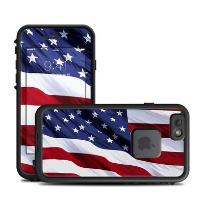 Skin for LifeProof FRE iPhone 6/6S - Patriotic by Flags - Sticker Decal