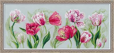 """Counted Cross Stitch Kit RIOLIS - """"Spring tulips"""""""
