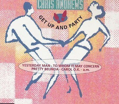 Chris Andrews Get up and party (megamix; 1993) [Maxi-CD]