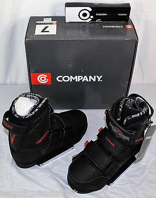COMPANY Vandall Wakeboard Bindings Mens Sizes 7, 8, 9, 10, 11, 12, 13