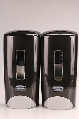 Rubbermaid Commercial Hand Soap Dispenser 3486592 Wall-Mounted Manual Black 2PK