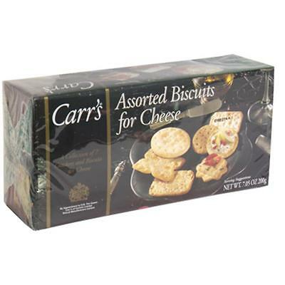 Carr's Assorted Biscuits F Original Cheese Nine Varieties 7.05-Ounce Box...