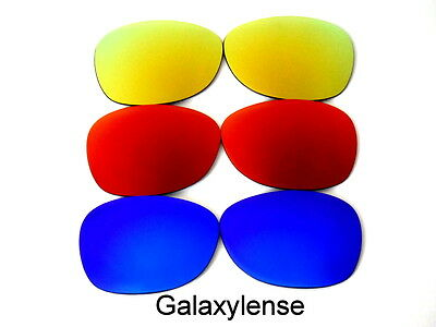 5278ad944f8 Replacement Lens For Ray Ban RB2132 New Wayfarer Sunglasses Blue Red Gold  55mm