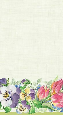 Caspari Entertaining with Spring Garland Paper Guest Towels 15-Pack 0