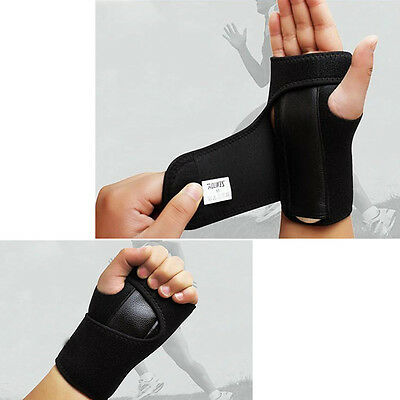 Practical Removable Adjust Wristband Steel Wrist Bracer Steel Plate Protect Palm