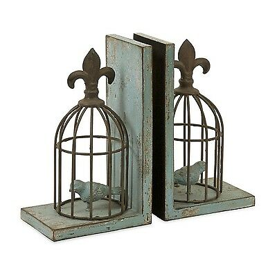 IMAX 87378-2 Birdcage Bookends 2-Pack