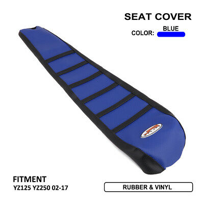 Pro Rib Ribbed Gripper Soft Seat Cover For Yamaha YZ125 YZ250 2002-2016