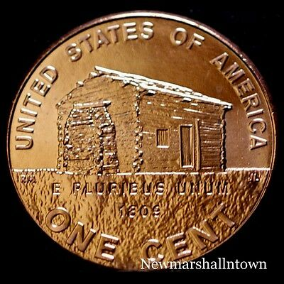 2009 P Lincoln Birthplace Penny ~ Bicentennial Uncirculated Cent from Mint Roll