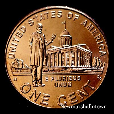 2009 D Lincoln Professional Penny Bicentennial Uncirculated Cent from Mint Roll
