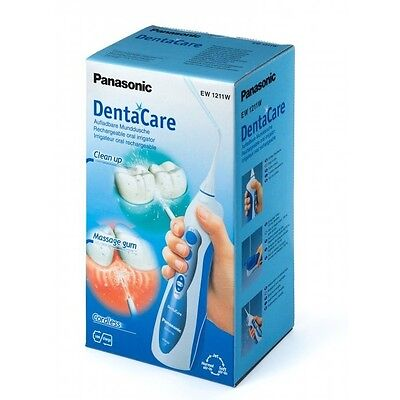 Panasonic DentaCare Rechargeable Dental Oral Irrigator Flosser Waterjet EW1211