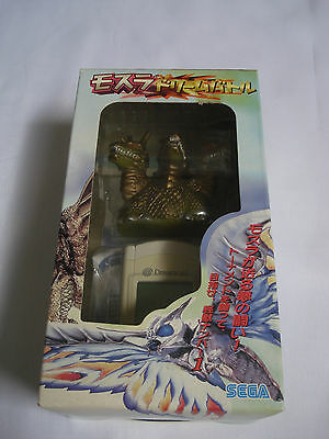 Sega Dreamcast Mothra VMU Dream Battle Godzilla