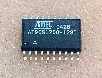 2 pcs. AT90S1200-12SI  Mikrocontroller 24MHz  SOIC20