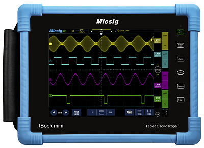 Micsig tBook Mini TO1074 4 Channel 70MHz Tablet Oscilloscope