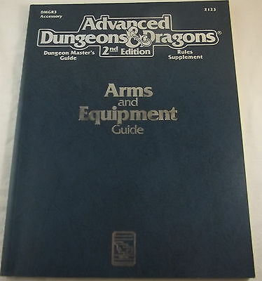 Arms and Equipment Guide (Advanced Dungeons & Dragons, Dungeon Master's Guide)