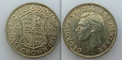 Collectable 1938 George VI Half-Crown Lot 1