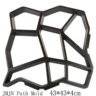 Cement Brick Molds The Stone Road Auxiliary Tools/DIY Plastic Path Maker Mold