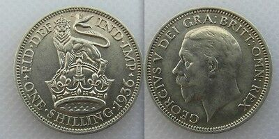 Collectable 1936 King George V One Shilling