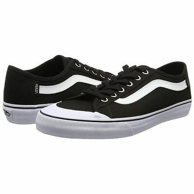 Vans Black Ball SF Black/White Classic Skate Shoes WOMEN'S SIZE 7.5