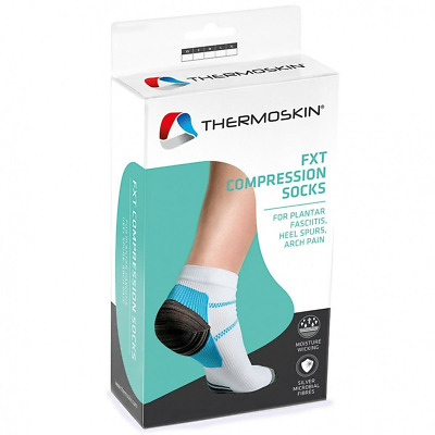Thermoskin Fxt Compression Socks CHOOSE SIZE Plantar Fasciitis Hell Spurs Pain