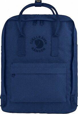 Fjällräven Re-Kanken Rucksack 16 Liter Sitzkissen Backpack - Midnight Blue