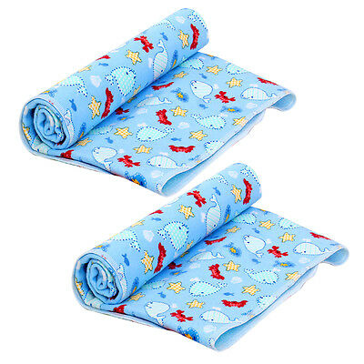 Baby Waterproof Mattress Sheet Protector Diapering Changing Pads For Bed/Travel