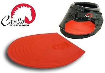2x Cavallo GEL PADS Simple/Sport Hoof Boot Extra Comfort Cushion Protection