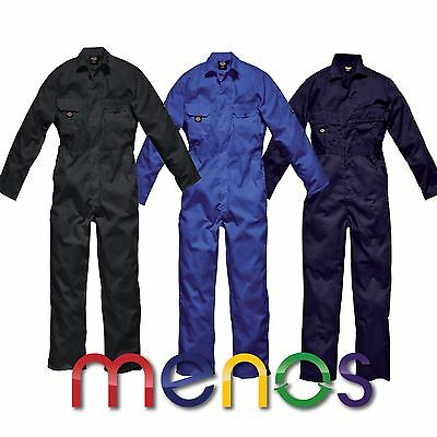 Dickies Gents Redhawk Stud Front Coverall - Overall Farmer Painter Mechanic