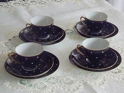 Wonderful Retro Porcelain ' Cornelia'  Tea Set For 4 Calsbad