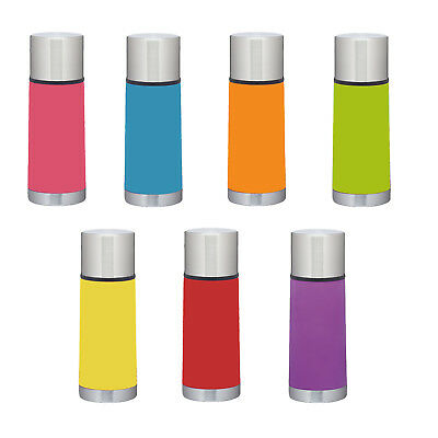 Colourworks Stainless Steel Vacuum Flask 350ml - Hot or Cold Drinks Soup Water