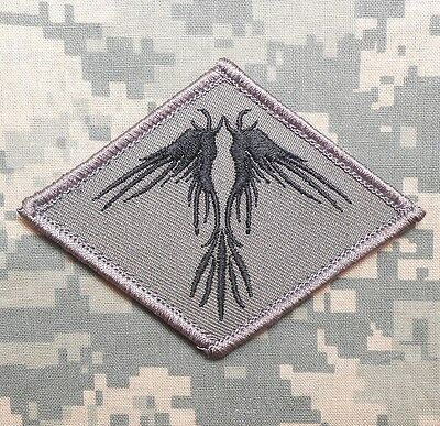 The Phoenix Tactical Usa Army Morale Combat Military Badge Acu Dark Hook Patch