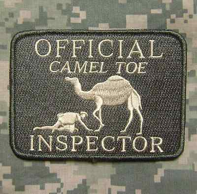 Official Camel Toe Inspector Tactical Acu Light Velcro® Brand Fastener Patch