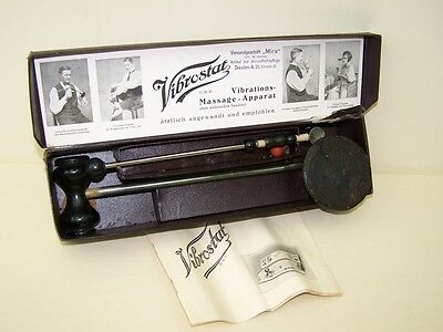 Age Vibrations-Massage-Apparat, Vibrostat Antique Drp
