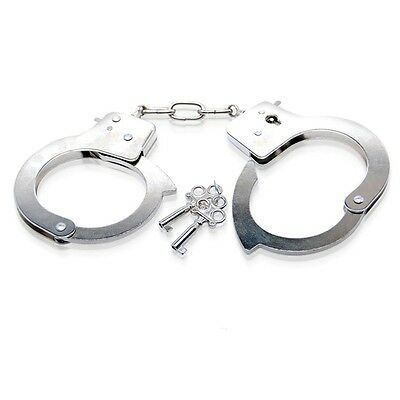 Excellent Medium Quality Handcuffs Hand Cuffs Metal Chain