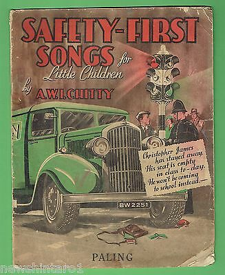 #t64. Australian Safety First Songs For Children Music Booklet