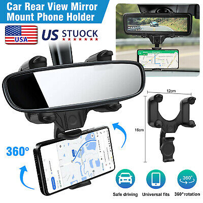 360° Car Windshield Dashboard suction Mount Holder Stand For Phone Tablet PC GPS