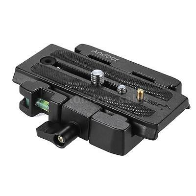 Quick Release Plate Compatible for Manfrotto 501 500AH 701HDV 503HDV Q5 Head