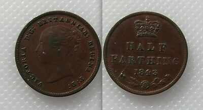 Collectable 1843 Queen Victoria Half-Farthing - Lot 4