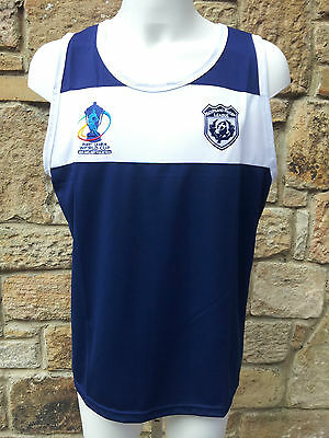 """Official ISC """"Scotland Rugby League Training Vest""""  RRP £29.95"""
