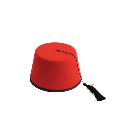 8dfff6081 RED FEZ 11TH Doctor Who Aladdin Prince Eleventh Matt Smith Hat Dr. Hat TV  Felt